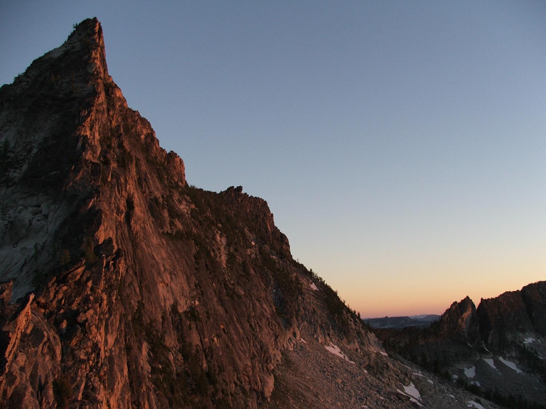 Canyon Peak in Montana's Bitterroot Range