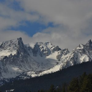 Trapper Peak in Montana's Bitterroot Range
