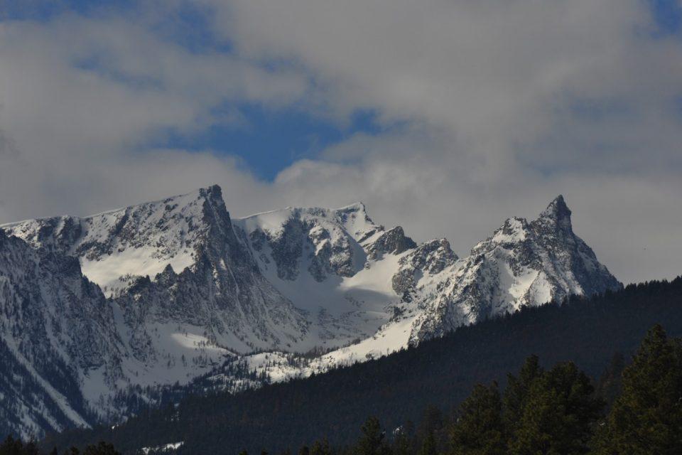 Trapper Peak in Montana's Bitterroot Range