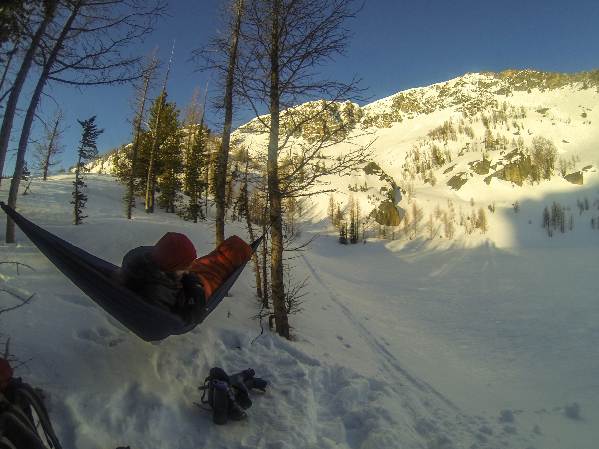 backcountry ski hammock