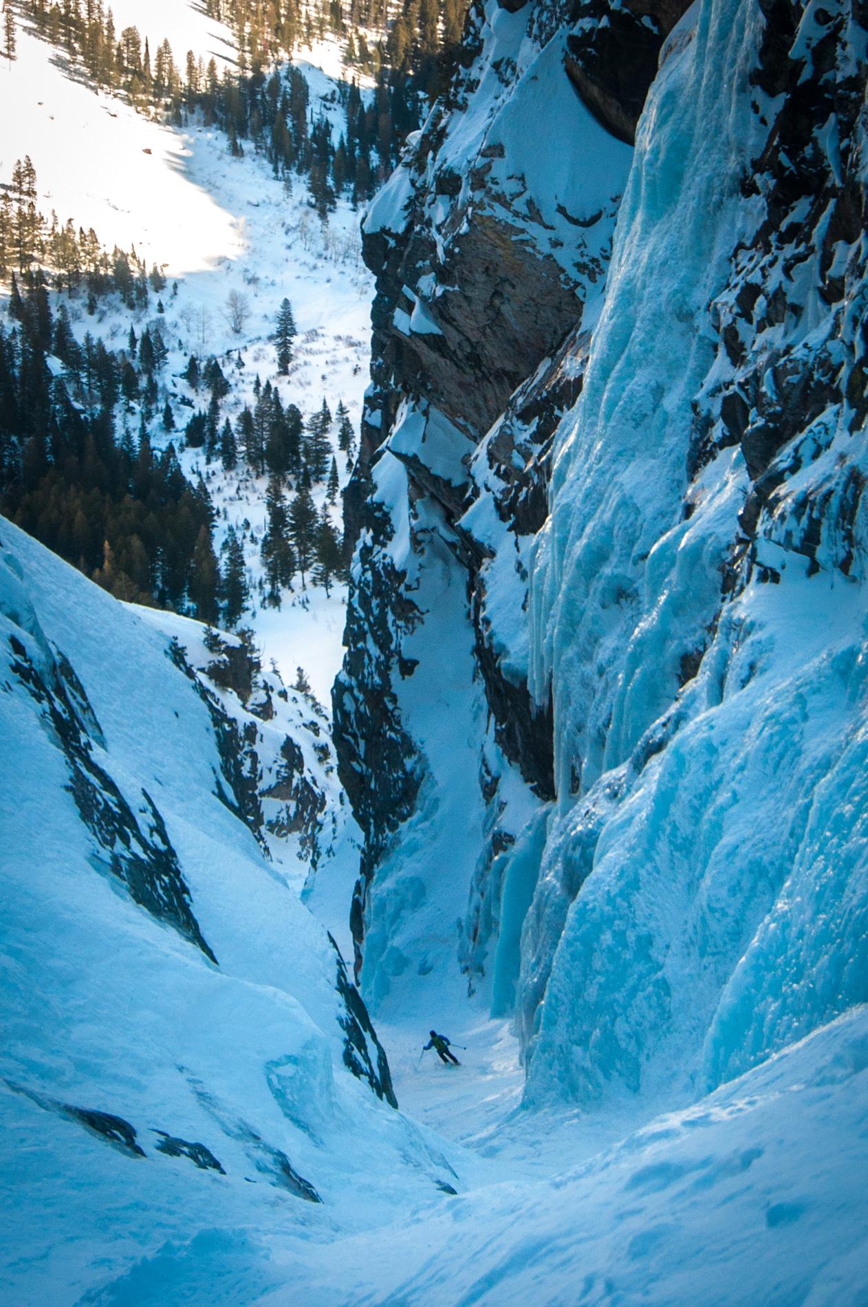 Icefall crux