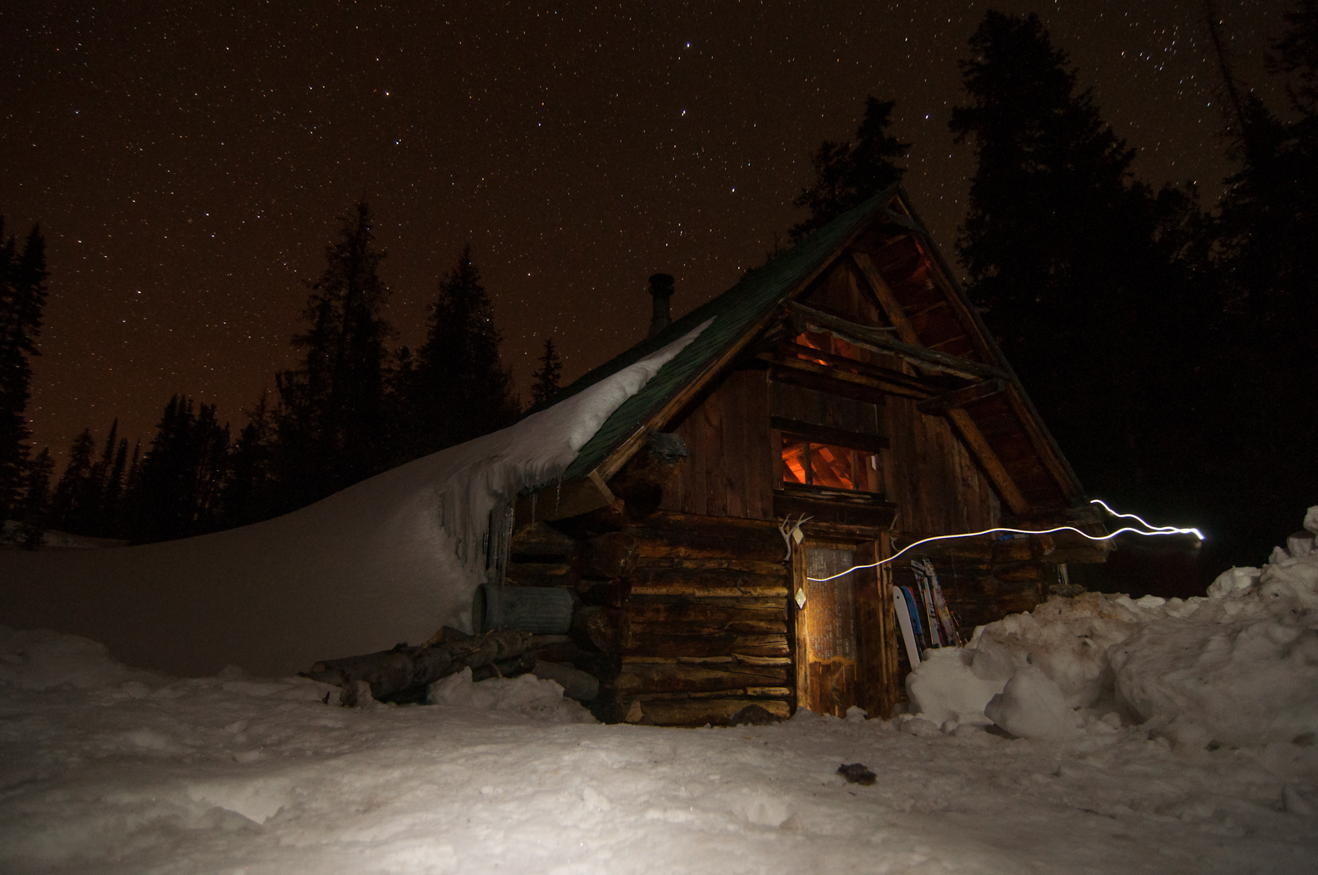 Goodwin Lake Ski Cabin, Gros Ventre Mountains
